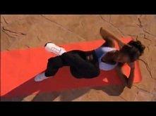 Mel B - trening abs