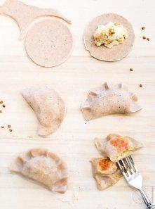 Bezglutenowe pierogi ruskie z mąką gryczaną