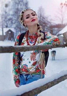 Piękna słowiańska bluzka <3