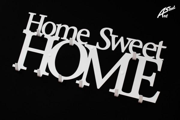 Bia y wieszak na ubrania home sweet home wersja posiadaj ca 9 na wieszaki na ubrania Home ubrania