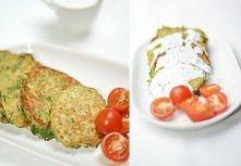 """""""LUBIĘ PLACKI"""" ♥  A co Wy na placuszki szpinakowo-owsiane(390 kcal) ? :)  Składniki na około 4 porcje (po 4 placki)  Szpinak mrożony - 450 gr lub opakowanie sz..."""