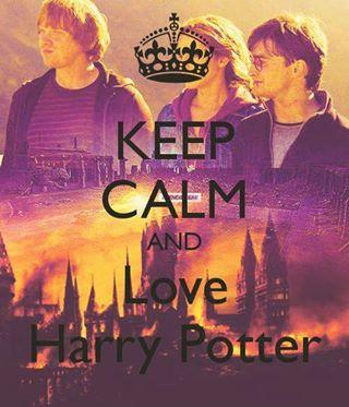 Keep Calm And Love Harry Potter !! <3
