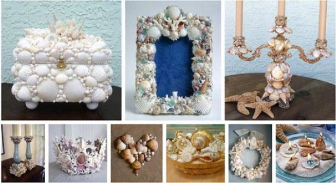 seashell craft ideas home na diy mix zszywka pl 5391