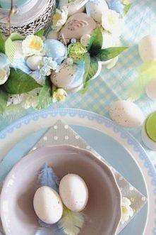 stół na Wielkanoc - inspiracje z decofleur.com.pl