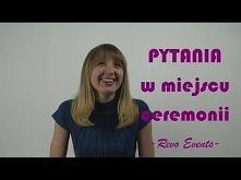 Miejsce ceremonii - pytania / vblog Revo