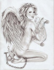 Anioł... Śliczne