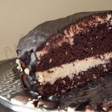 CIASTO CZEKOLADOWE Z KISZONĄ KAPUSTĄ  Ciasto: - 2/3 szklanki kiszonej kapusty, - ½ szklanki kakao w proszku, - 2 szklanki mąki, - 1 łyżeczka proszku do pieczenia, - 1 ¼ łyżeczki...