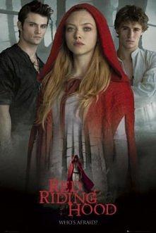 dziewczyna w czerwonej pele...
