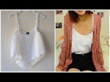 ✂ DIY: EASY Lace Crop Top