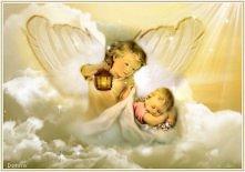 Anioł zawsze nas ochrania...