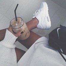 Nike air Max'y white
