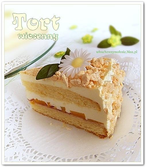 Tort wiosenny  (przepis po kliknięciu w zdjęcie)