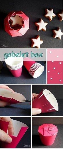 Ciekawy pomysł na pudełko <3