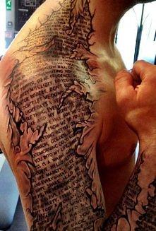 świetny tatuaż !