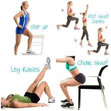 takie różne ćwiczonka na mięśnie nóg
