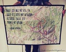 DIY: Prezent dla podróżników - niekonwencjonalna mapa  Instrukcja: KLIK na obrazek  WIĘCEJ: trashionbysookie.blogspot.com