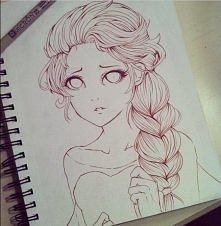 Elsa, przepiękna *-* (To ni...