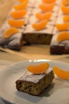 Madarynkowe ciasto bez mąki...