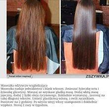maseczka na włosy! :)