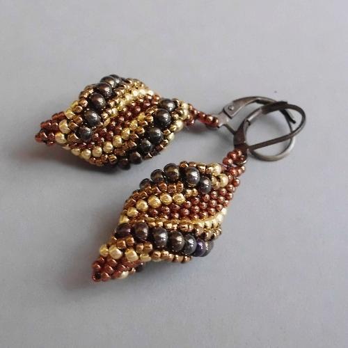 6e25a497a1dcac Ręcznie robione, koralikowe kolczyki - świderki :) na Kolczyki ...