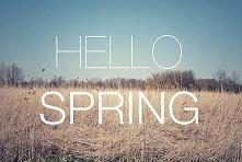 Witaj wiosno :)