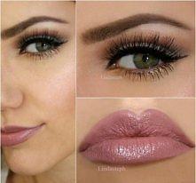 Śliczny i delikatny makijaż :)