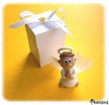 Aniołek w pudełku - podzięk...