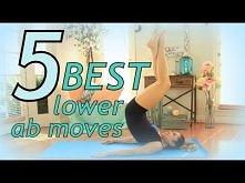 Oto 5 najlepszych ćwiczeń da dolne partie brzucha