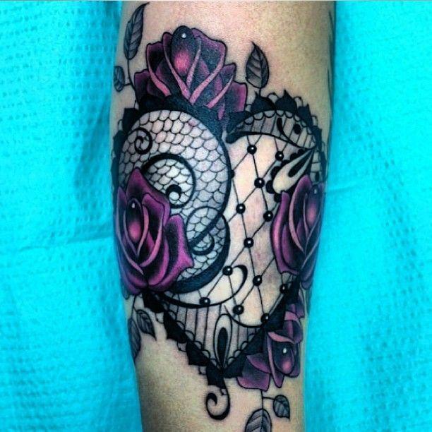 Tatuaż Róże I Serce Na Wzory Tatuaży Zszywkapl