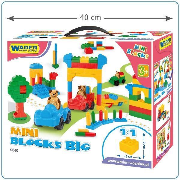 Wader 41360 Klocki Mini Blocks Kompatybilne Z Klockami Lego D Na