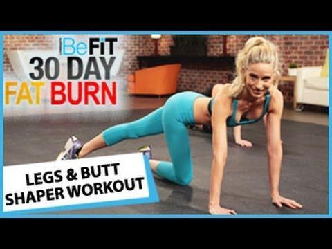 Ćwiczenia spalające tłuszcz na nogach i modelujące pupę
