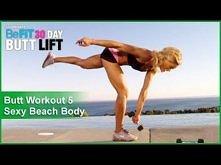 """Butt Workout 5: Sexy Beach Body   ĆWICZENIA NA SEXY TYŁECZEK ! :)  Moja przygoda z """"30 DAY BUTT LIFT"""" ^^ DZIEŃ 9 !!!  PS. te ćwiczenia wykonujemy w dniu: 9, 19, 27, 30..."""