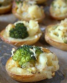 Ziemniaki faszerowane zapie...
