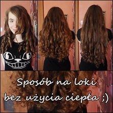 Loki na moich włosach z chusteczek nawilżanych ;) Ja użyłam suchych chustecze...