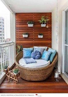 relax na balkonie