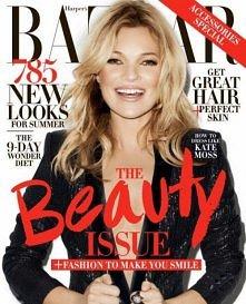 Kate Moss w nowej super sesji dla Harper's Bazaar US!
