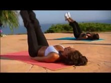 Mel B trening abs ! świetne ćwiczenia na BRZUCH! ..poczujesz jak cię palą - na prawde polecam :P