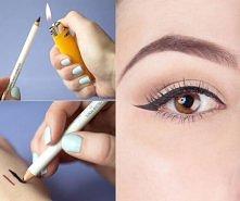 Podgrzej przez sekundę żelowy ołówek - wtedy bardzo łatwo go rozprowadzisz