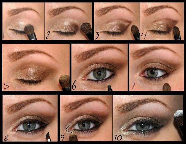 Piękny Delikatny Makijaż Oczu Krok Po Kroku 3 Na Cacuszko 3