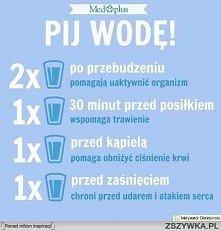 Picie wody jest bardzo ważne dla zdrowia , pomaga nam także schudnąć , ponieważ człowiek po części zbudowany jest z wody .To ona oczyszcza nasze ciało z toksyn. Jest podstawowym...