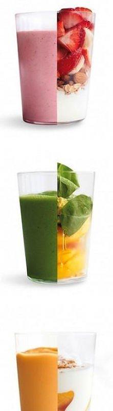 shake i owoce,kolejny krok ku idealnej sylewtce:)