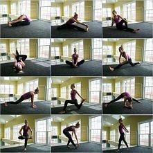 Przed treningiem należy się jak najlepiej rozciągnąć ! Nasze ciało musi się najpierw dostosować do jakiegokolwiek wysiłku fizycznego.