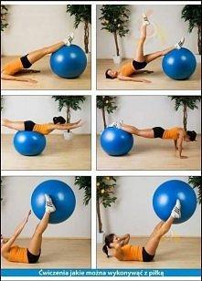 Ćwiczenia z piłką. Ćwiczenia na piłce to doskonała alternatywa dla tradycyjnych zajęć fitness, a dodatkowo świetny sposób na wzmocnienie mięśni, zdrowy kręgosłup oraz lepszą rów...
