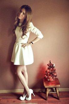 Pikowana sukienka ŚLICZNA :)