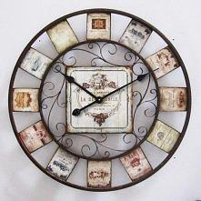Piękny zegar ścienny