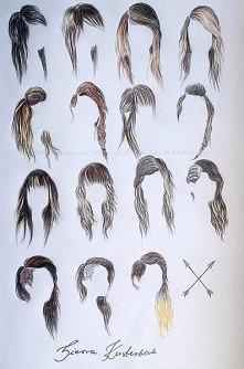 włosy :)