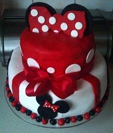tort dla córci z niedawnych urodzin - oczywiście zrobiłam sama;)
