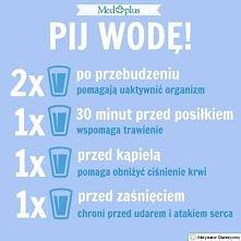 Picie wody jest bardzo ważne dla zdrowia , pomaga nam także schudnąć , poniew...