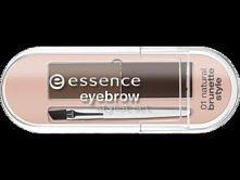 Na niewidzialne brwi (takie jak moje) podstawowym kosmetykiem jest cień do brwi - ten z essence ma dodatkowo szablony, które mogą ułatwić rysowanie odpowiedniej formy