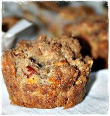 Żytnie muffiny z kabanosem ...